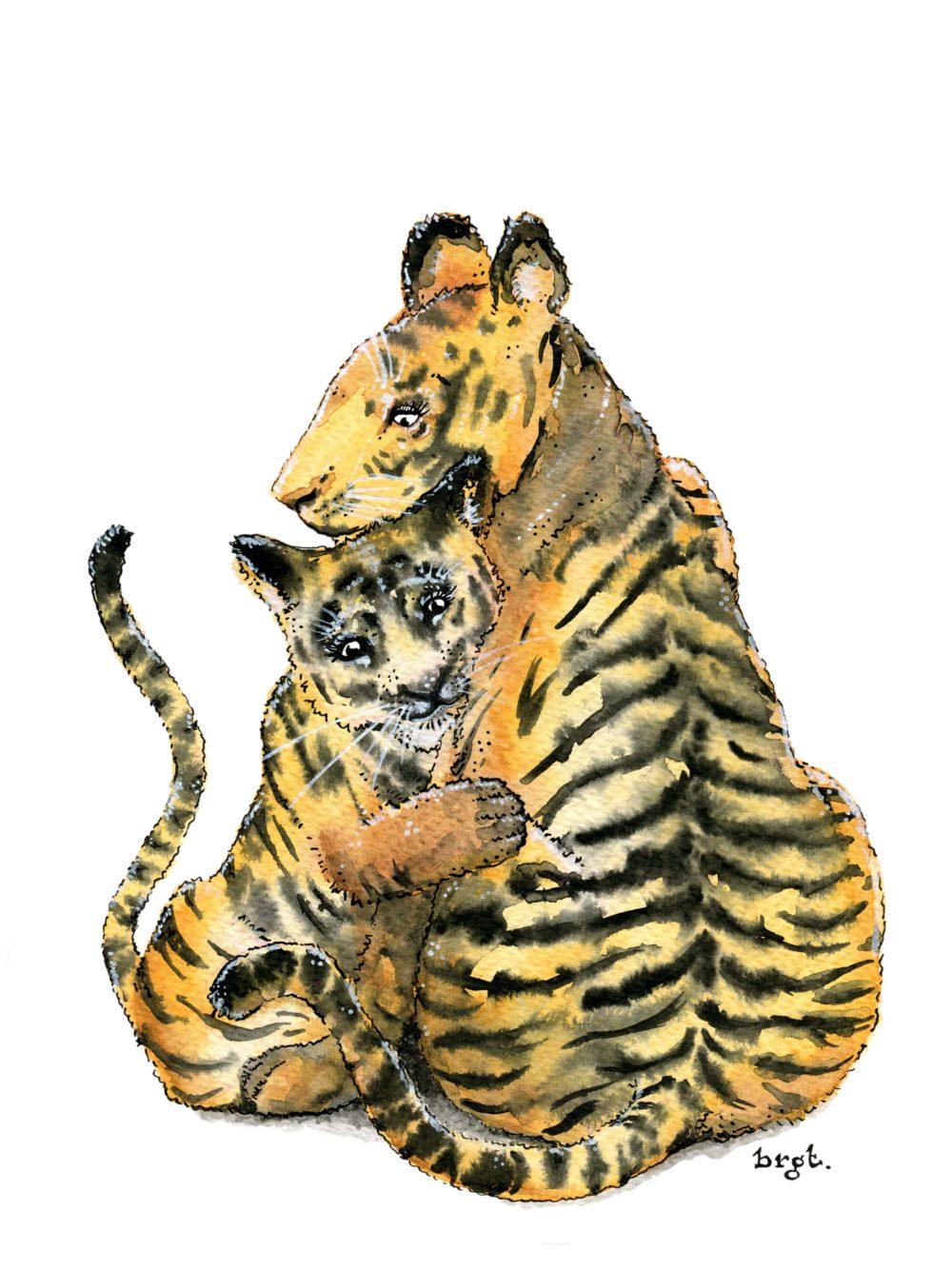 tijger knuffel
